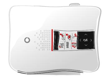 La Vodafone Station 2 stilizzata su Offerte internet