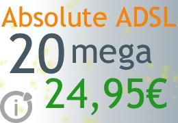 ADSL senza limiti a 20 mega di Infostrada
