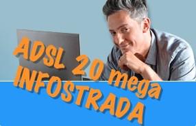 L'offerta ADSL 20 mega di Infostrada: alta velocità, basso prezzo