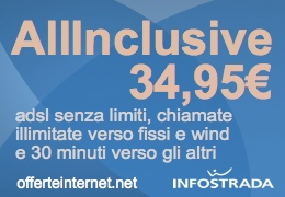 All Inclusive di Infostrada – Offerte Internet