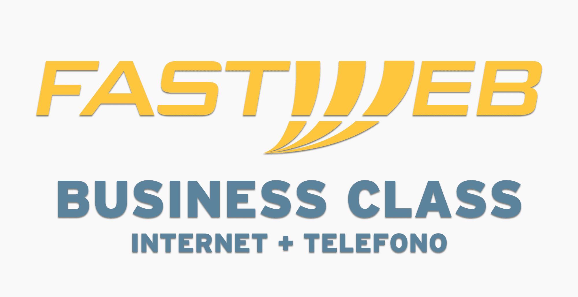 Con Fastweb Business Class hai internet e telefono per la tua azienda
