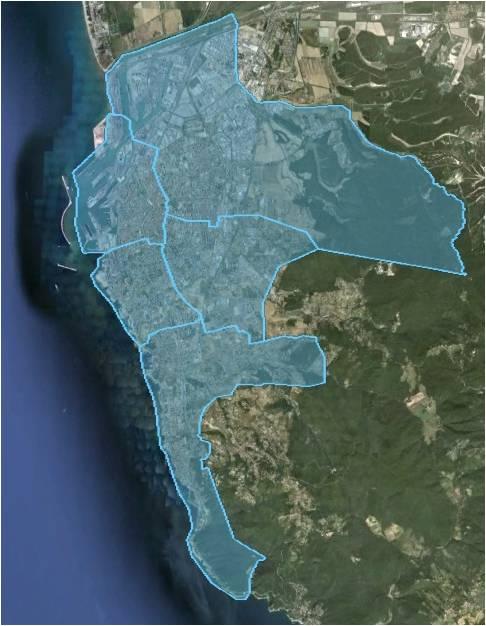 Livorno: copertura in fibra ottica del territorio