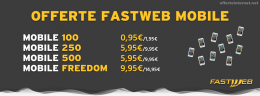 Offerte Fastweb Mobile