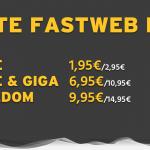 Offerte Fastweb mobile 4G