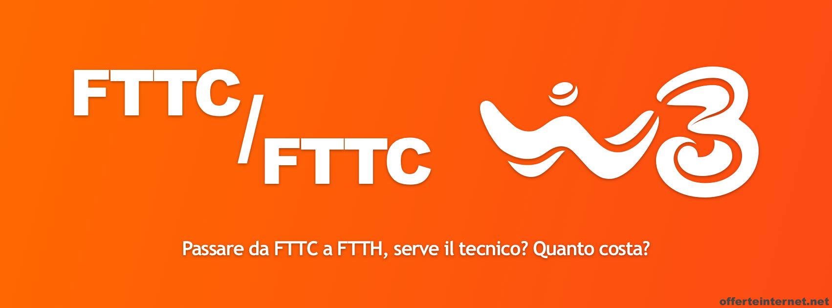 Passare da fibra FTTC a FTTH, serve l'intervento del tecnico? Quanto costa?