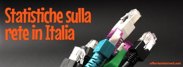 Statistiche sull'adsl e l'infrastruttura in Italia